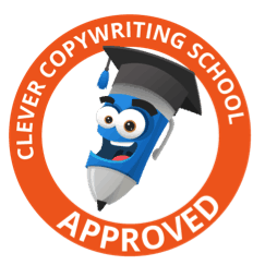 Clever Copywriting School Approved