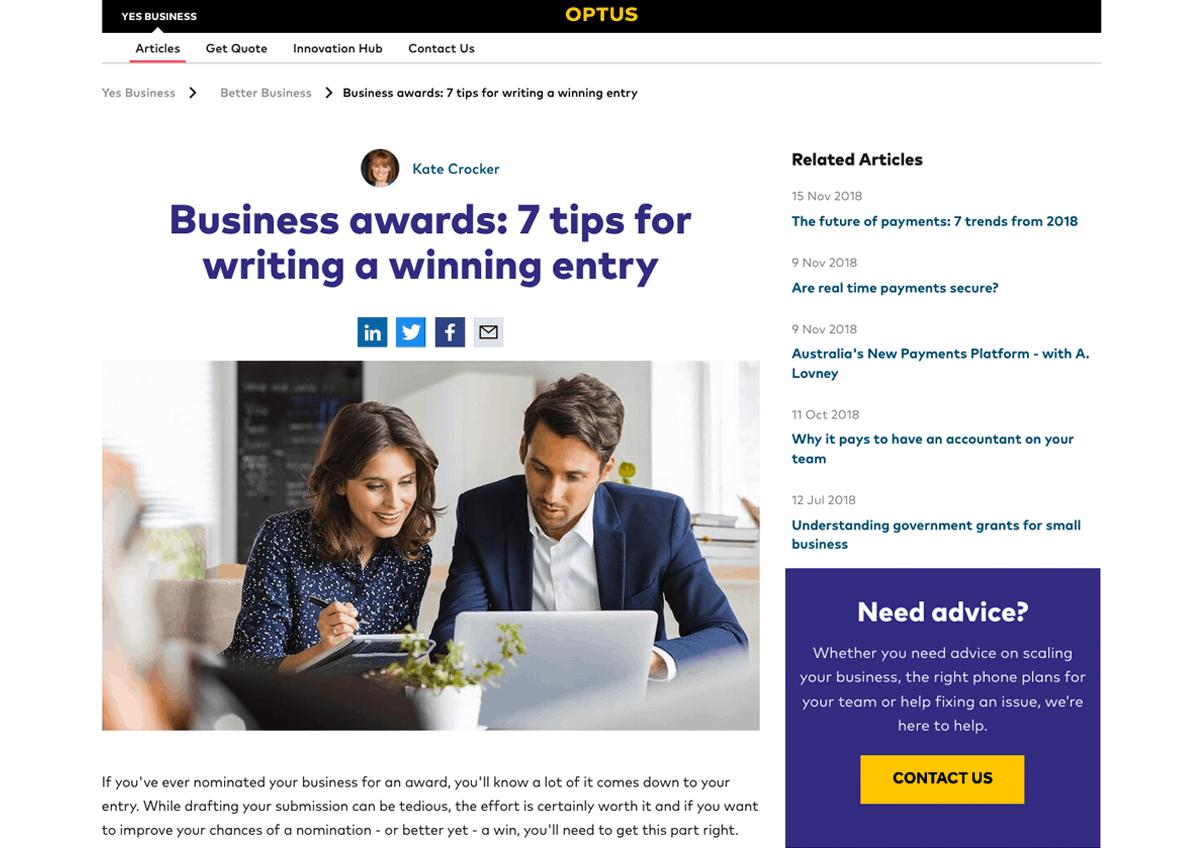 Business Awards 1